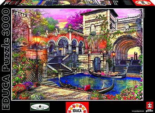 Educa Kids Venice Courtship Puzzle 3000-Piece