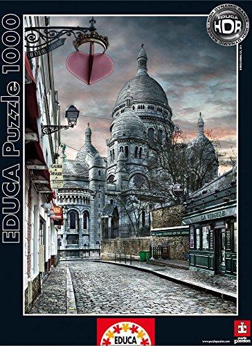 Educa Montmartre Paris Puzzle 1000 Piece