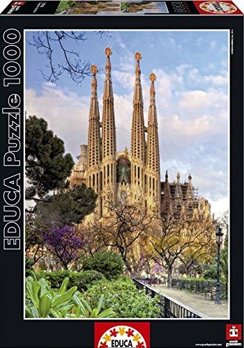 Educa Sagrada Familia Puzzle 1000 Piece One Color