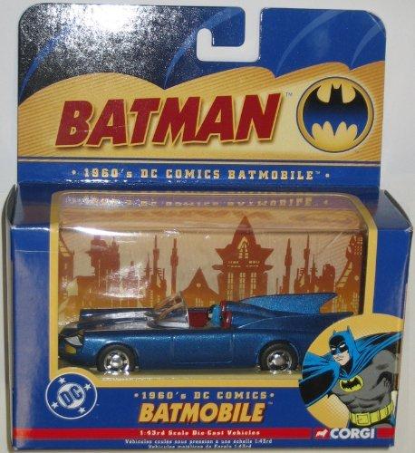 1960s DC Comics BATMOBILE 143 Scale Die-Cast Vehicle CORGI 2004 Batman Collectibles by Batmobile
