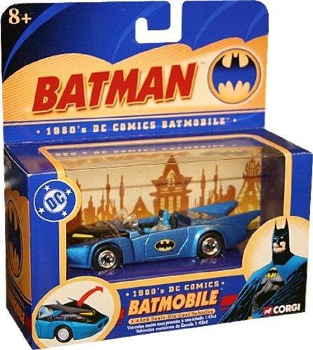 1980s DC Comics BATMOBILE 143 Scale Die-Cast Vehicle CORGI 2004 Batman Collectibles