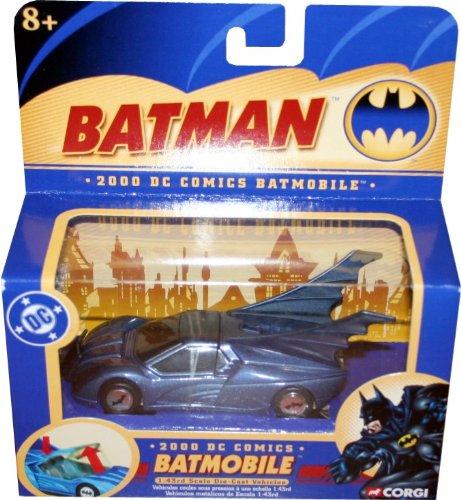 2000 DC Comics BATMOBILE 143 Scale Die-Cast Vehicle CORGI 2004 Batman Collectibles