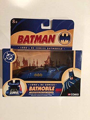 Batman 1990s DC COMICS BATMOBILE 143rd SCALE DIE-CAST VEHICLES