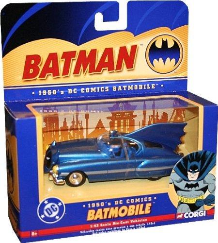 Corgi 1950s DC Comics BATMOBILE 143 Scale Die-Cast Vehicle 77314 by Corgi