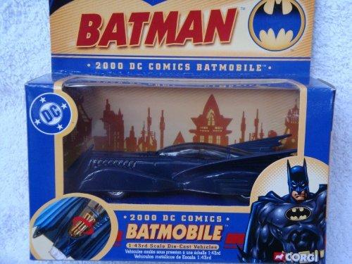 Corgi DC Comics 2000 Batmobile 143 Scale Detailed Diecast by Corgi
