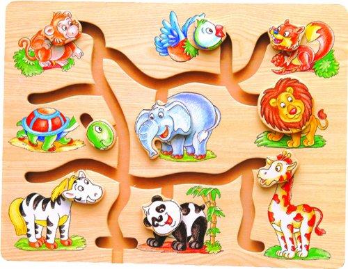 Maze Puzzle - Animals