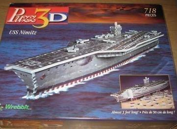 PUZZ 3D USS Nimitz 718 Pieces