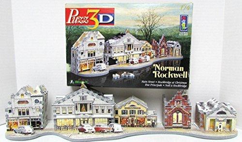 Puzz 3D Norman Rockwell Stockbridge at Christmas