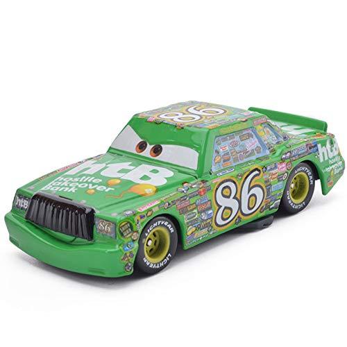 Disney Disney Pixar Cars 2 Lightning McQueen Chick Hicks The King 155 Alloy Diecast Cars Truck Boy Toys Gifts Sets Retail 11