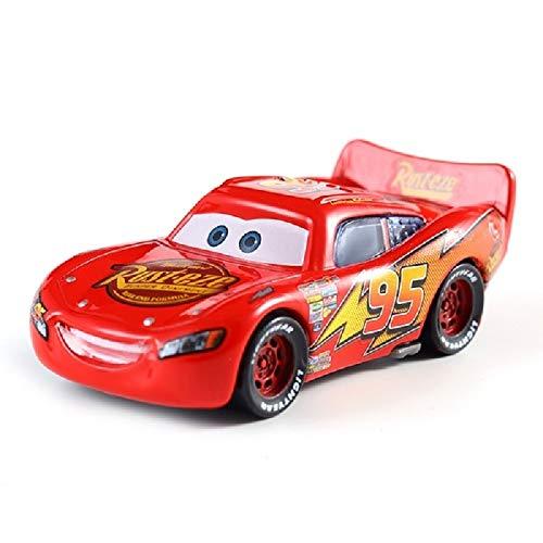 Disney Disney Pixar Cars 2 Lightning McQueen Mater Jackson Storm Ramirez 155 Diecast Vehicle Metal Alloy Boy Kid Toys Gift 34
