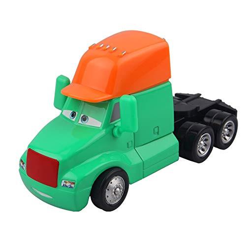 Disney Disney Pixar Cars Cars 2 Lightning McQueen Blue Headstock Diecast Metal Alloy Model Toy Car Birthday Gift Toys for Kids Boy Baby