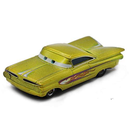 Disney Disney s Pixar Cars 2 Lightning McQueen Gold Ramone 155 Scale Diecast Metal Alloy Toys Children Racing Car Brinquedos Gold Ramone