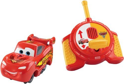 Fisher-Price GeoTrax DisneyPixar Cars 2 RC Lightning McQueen