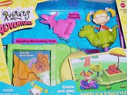 Angelicas Backyard Playset -Rugrats Adventures by Mattel-1998
