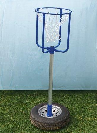 Basket Ball Tiny Tot Shot 4 Foot Outdoor Playground Equipment Kids Fun Hoop