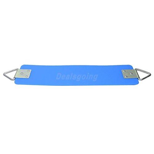 Sangdo Kids Outdoor Playground Swingset Strap Belt Swing Seat Swings Blue