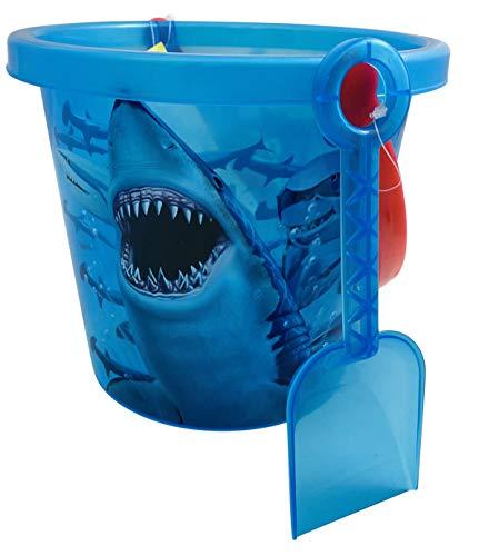Get A Gadget Shark Bucket and Shovel Kids Play Set Toy Pack