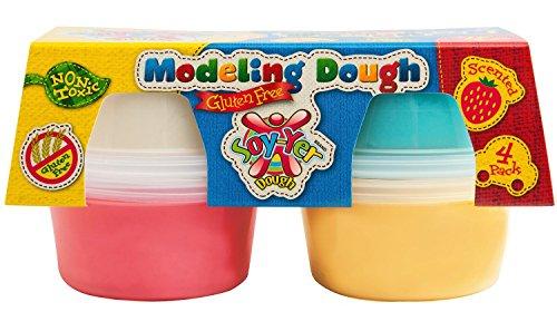 Soy-Yer Dough Gluten Free Modeling Dough 4 Pack