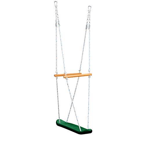 Gorilla Playsets 07-0026 Skateboard Swing Standing Swing for Outdoor Swing Set Green