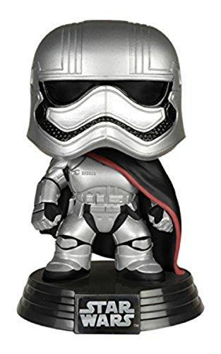 Funko Star Wars The Force Awakens Pop Captain Phasma Vinyl Bobble-Head
