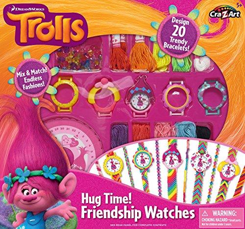 Cra-Z-Art Trolls Hug Time Friendship Watches Building Kit
