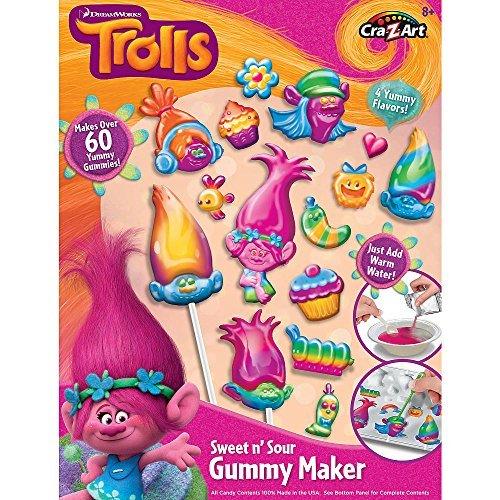 Cra-Z-Art Trolls Vs Bergen Gummy Town Food Making Set