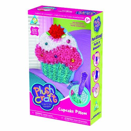 Orb Plush Craft Cupcake Pillow