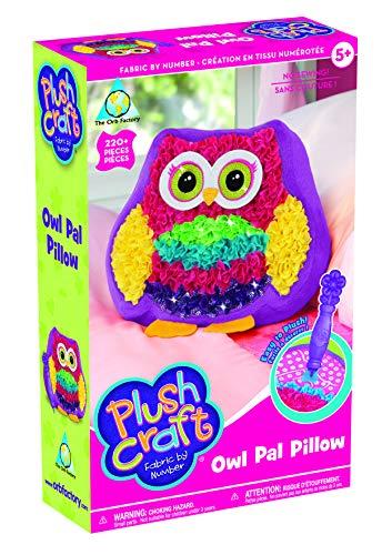 Plushcraft Owl Pal Pillow - Craft Kit