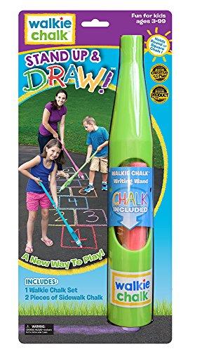 Walkie Chalk Stand Up Sidewalk Chalk Holder - Lime