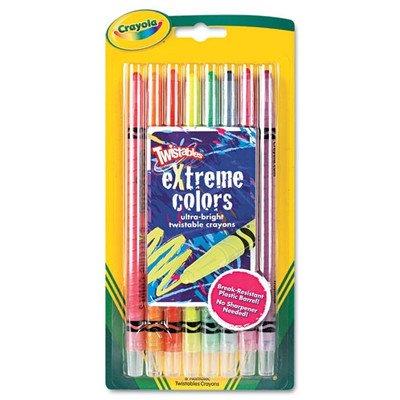 Twistable Crayons 8 Neon ColorsSet Set of 2
