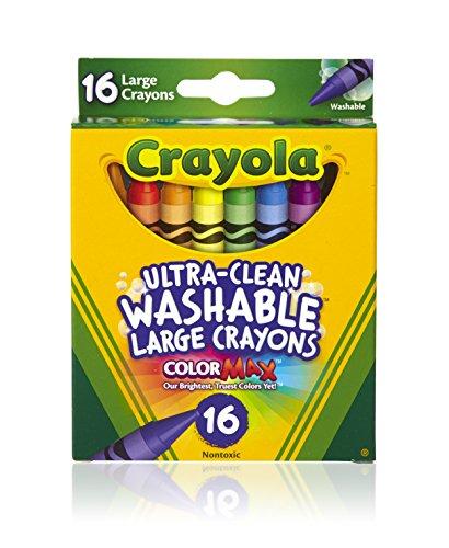 Crayola Washable Crayons 16-pk