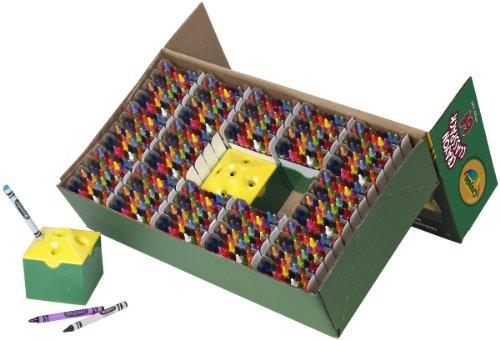 Crayola 832 Ct Crayon Classpack 64 Assorted Colors 52-8019