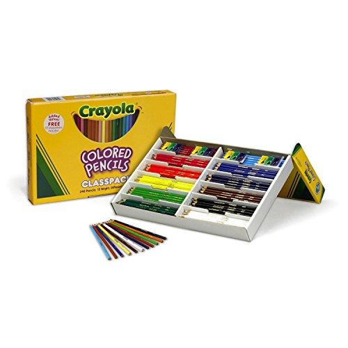 Crayola Classpack Colored Pencils 240ctset