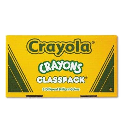 Crayola Classpack Regular Crayons 50 Each of 8 Colors 400Box