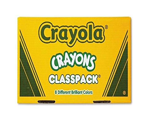 Crayola Classpack Regular Crayons 50 Each of 8 Colors 400 Pack