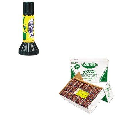 KITCYO528019CYO561135 - Value Kit - Crayola Classpack Regular Crayons CYO528019 and Crayola Washable Glue Stick CYO561135