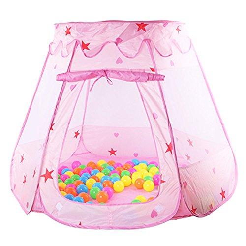Sangdo Pink Princess Cute Boys Girls Playhouse Children Kids Fun Toy Outdoor Play Tents