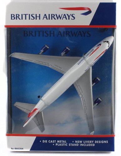 Real Toys BA6264 British Airways Boeing 747-400 Toy