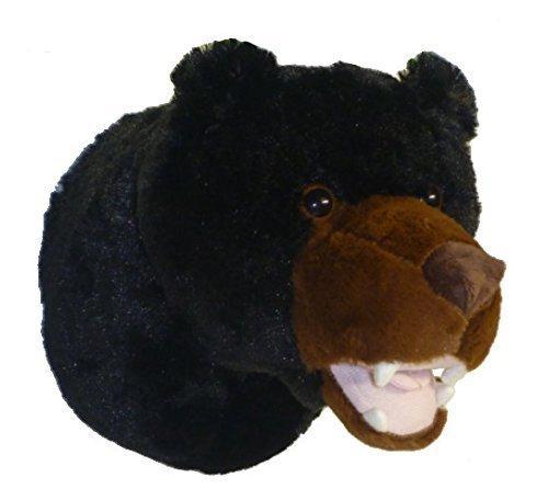 ADORE 13 Tahoe the Black Bear Plush Stuffed Animal Walltoy Wall Mount