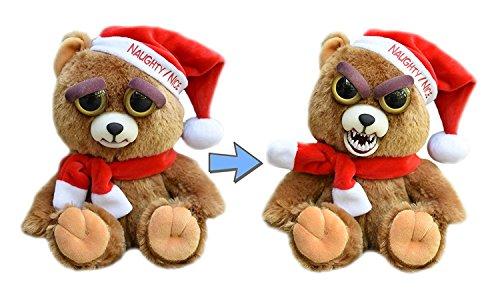 William Mark Feisty Pet Santa Bear Ebeneezer Claws Stuffed Attitude Plush Animal