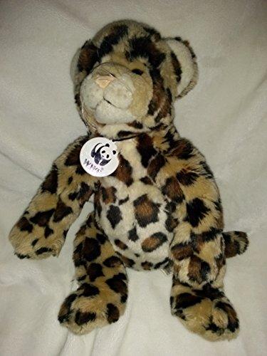 Build a Bear Workshop World Wildlife Fund Series 2012 Plush Stuffed Leopard Cheetah