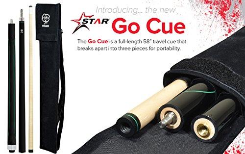McDermott Star SG1 - GO CUE Portable Travel Billiards Pool Cue Stick