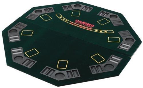 Premier Folding Poker Table Table Top Poker Board by CQ Poker