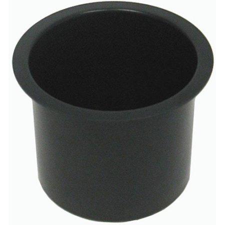 Trademark Poker Jumbo Aluminum Black Poker Table Cup Holders Set Of 10