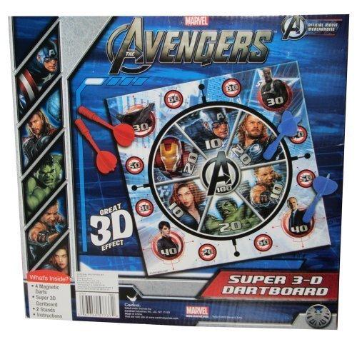 Cardinal Games Avengers 3D Magnetic Dartboard