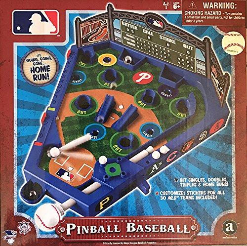 MLB Baseball Pinball with All 30 Teams Stickers