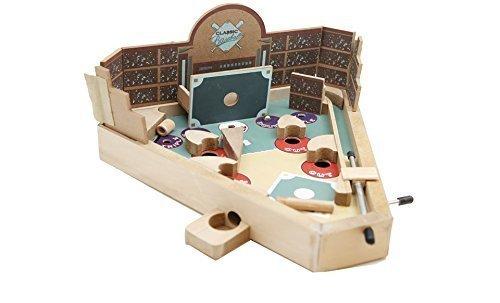 Vintage Baseball Pinball Game Model  Toys Play