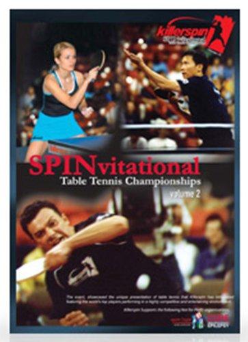 Killerspin 2004 SPINvitational Table Tennis Championships Volume 2 DVD