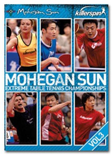 Killerspin Mohegan Sun Extreme Table Tennis Championships Volume 3 DVD