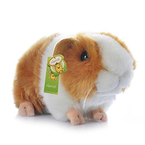 Cuddly Big Soft Toys Emulation Yellow Guinea Pigs Doll 7 Soft Baby Stuffed Animal Toy Valentines Day Birthday Xmas Christmas Wedding Anniversary Presents Gifts
